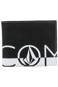 Volcom One Two Three Wallet (white black)