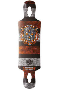 Sector 9 Sprocket 38.5&quot; (97,8cm) Longboard Deck (orange)