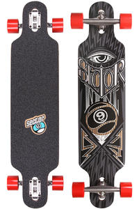 "Sector 9 Seeker 39"" (99cm) Komplett-Longboard (brown)"