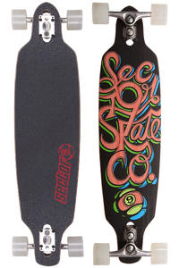 "Sector 9 Fraction 36"" (91,5cm) Complete-Longboard (red)"
