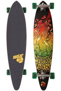 "Sector 9 Fanatic 40"" (102cm) Komplett-Longboard (red)"