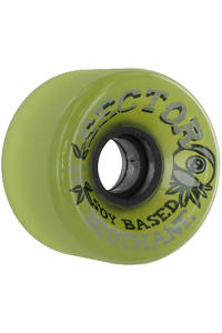 Sector 9 Soy Biothane 65mm 78A Rollen 4er Pack  (green)