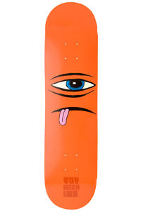 Toy Machine Sect Face 7.875&quot; Deck (orange)