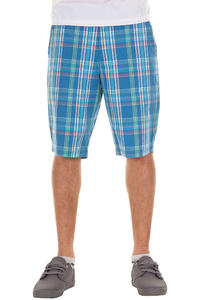 Volcom Rushy Plaid Shorts (airforce blue)