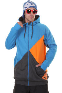 DC Kupress Snow Zip-Hoodie (blue jay)