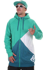 DC Kupress Snow Zip-Hoody (columbian green)