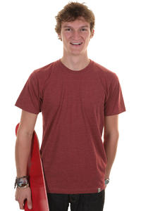 SK8DLX Basic T-Shirt (heather red)