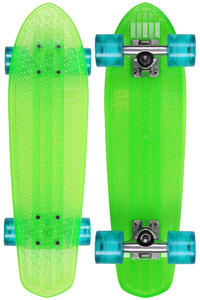"Globe Bantam Clears 24"" (61cm) Cruiser (lime raw light blue)"