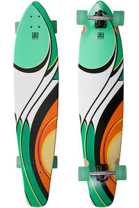 Globe Bodhi 43&quot; (109cm) Komplett-Longboard (multi clearwater)