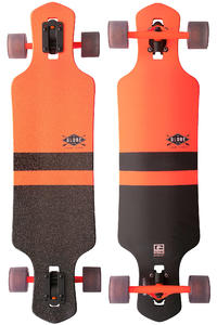 "Globe Germinon 35"" (89cm) Complete-Longboard (fluoro orange black)"