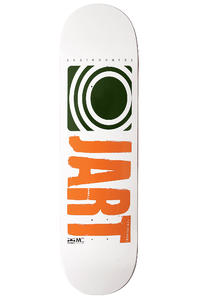 "Jart Skateboards Logo Basic SU12 8.375"" Deck (white dark green)"