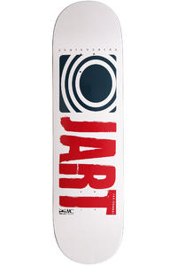 Jart Skateboards Logo Basic SU12 8.5&quot; Deck (white dark blue)