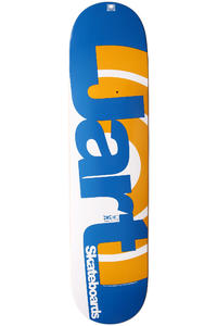 "Jart Skateboards Duo III Logo 7.625"" Deck (blue orange)"