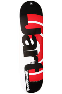 "Jart Skateboards Duo III Logo 8"" Deck (black red)"
