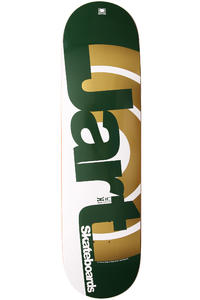 Jart Skateboards Duo III Logo 8.375&quot; Deck (green gold)