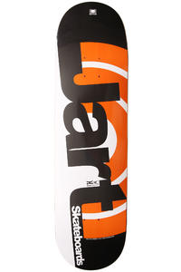 "Jart Skateboards Duo III Logo 8.5"" Deck (grey orange)"