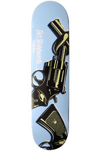 Jart Skateboards Funny Guns 7.75&quot; Deck (blue)