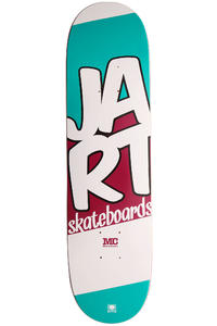 "Jart Skateboards Mini SU12 7.25"" Deck kids (turquoise red)"