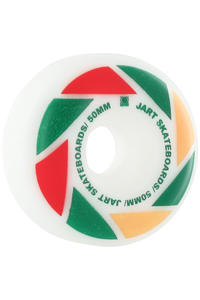 Jart Skateboards Blade Logo 50mm Rollen 4er Pack  (yellow red green)