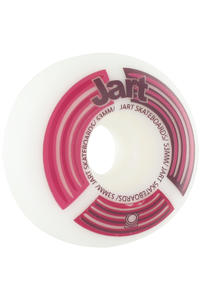 Jart Skateboards Radar Logo 53mm Rollen 4er Pack  (red)