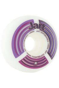 Jart Skateboards Radar Logo 54mm Rollen 4er Pack  (purple)