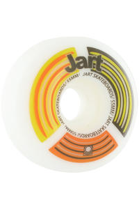 Jart Skateboards Radar Logo 55mm Rollen 4er Pack  (yellow)