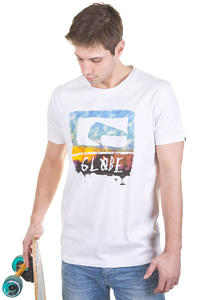 Globe Etched Logo T-Shirt (white)