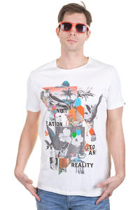 Globe Dion No Reality T-Shirt (dirty white)