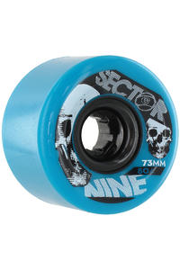 Sector 9 Race Formula 73mm 80A Rollen 4er Pack  (blue)