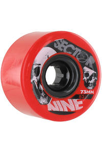 Sector 9 Race Formula 73mm 82A Rollen 4er Pack  (red)