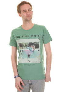 Globe Pink Motel T-Shirt (cool green)
