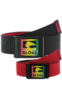 Globe Method Web Belt reversible  (black red)
