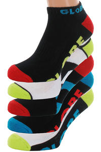 Globe Destroyer Colour Ankle Socken 5er-Pack US 7-11  (assorted)