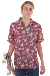 Globe Pina Colada Shirt (brick red)