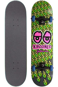 Krooked Kubed 7.75&quot; Complete-Board (green)