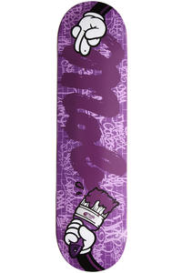MOB Skateboards Tool Brush 8.125&quot; Deck (purple)