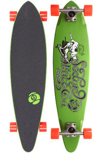 Sector 9 The Express 34.5&quot; (87,5cm) Complete-Longboard (green)