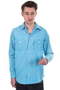 REELL Hunter Shirt (turquoise)