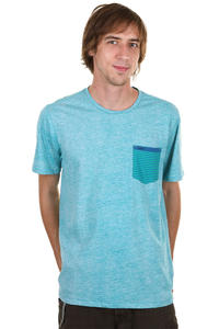 Hurley Pro Am Crew T-Shirt (blue nile)
