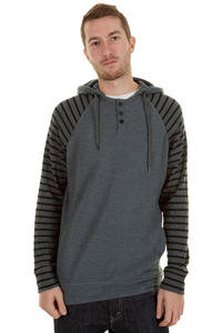 Hurley Barrio Longsleeve mit Kapuze  (graphite)