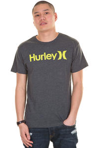 Hurley One &amp; Only Seasonal T-Shirt (heather black)