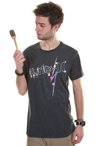 Hurley Loathing T-Shirt (heather black)