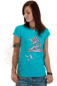 Zimtstern Blowin T-Shirt girls (scuba blue)