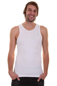 Etnies Classic Rib Tank-Top (white)