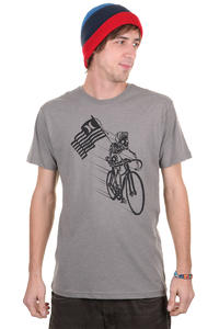 Hurley Biker T-Shirt (heather grey)