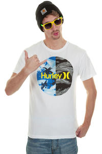 Hurley Krush Flamo T-Shirt (white)