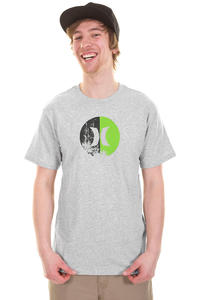 Hurley Icon Split T-Shirt (heather grey)