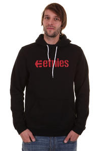 Etnies Corporate Hoodie (black red white)