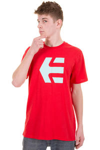 Etnies Icon 13 T-Shirt (red)