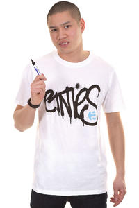 Etnies Sprayed T-Shirt (white)